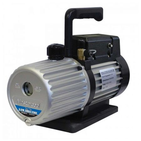 Mastercool 6CFM Single Stage Spark Free Vacuum Pump