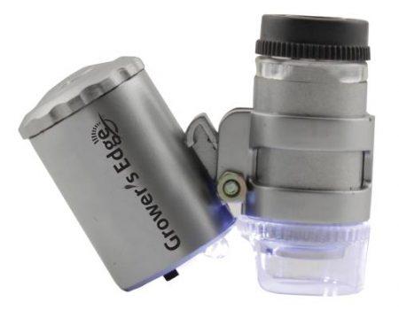 Grower's Edge Illuminated Microscope 60x