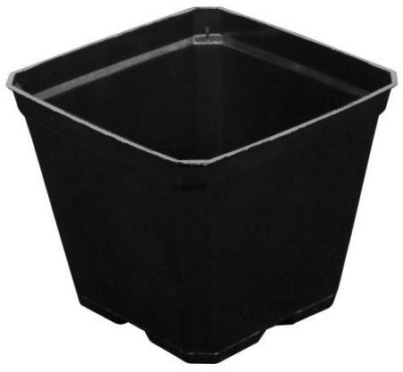 Gro Pro Black Plastic Pot 3.5 in x 3.5 in x 3 in