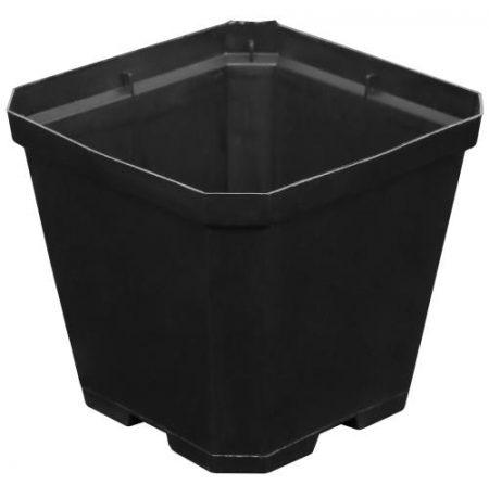 Gro Pro Black Plastic Pot 4 in x 4 in x 3.5 in