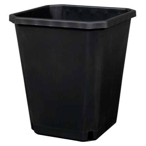 Gro Pro Maxipot Black 9.6 in x 9.6 in x 11.5 in