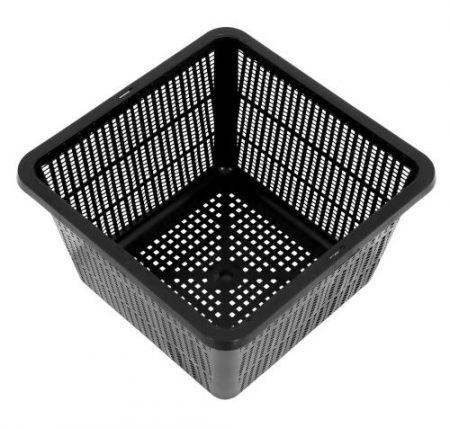 Gro Pro Square Mesh Pot 9 in x 9 in x 5-1/4 in