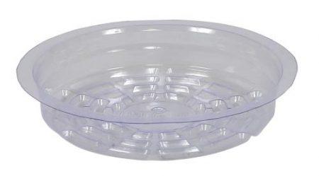 Gro Pro Premium Clear Plastic Saucer 6 in