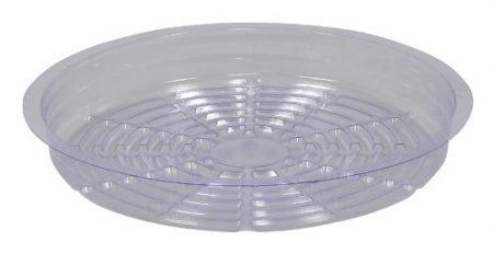 Gro Pro Premium Clear Plastic Saucer 10 in