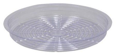 Gro Pro Premium Clear Plastic Saucer 12 in