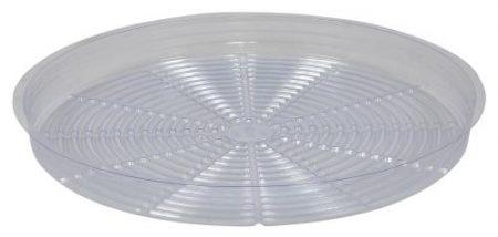 Gro Pro Premium Clear Plastic Saucer 18 in