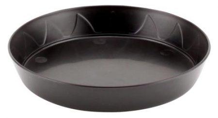 Gro Pro Heavy Duty Black Saucer - 6 in