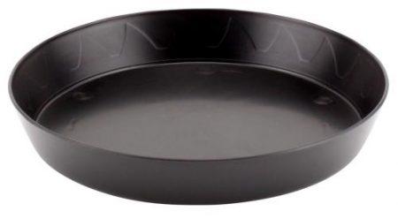 Gro Pro Heavy Duty Black Saucer - 8 in