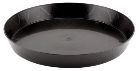Gro Pro Heavy Duty Black Saucer - 10 in