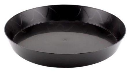 Gro Pro Heavy Duty Black Saucer - 12 in