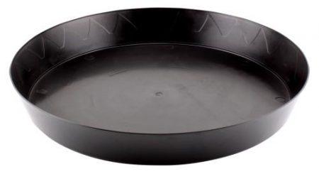 Gro Pro Heavy Duty Black Saucer - 14 in
