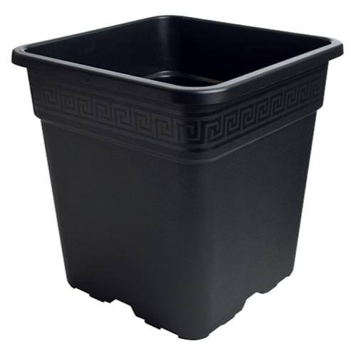 Gro Pro Black Square Pot 5 Gallon
