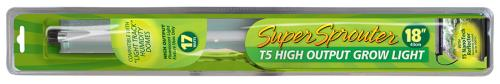 Super Sprouter T5 HO 18 in Grow Light Blister Pack