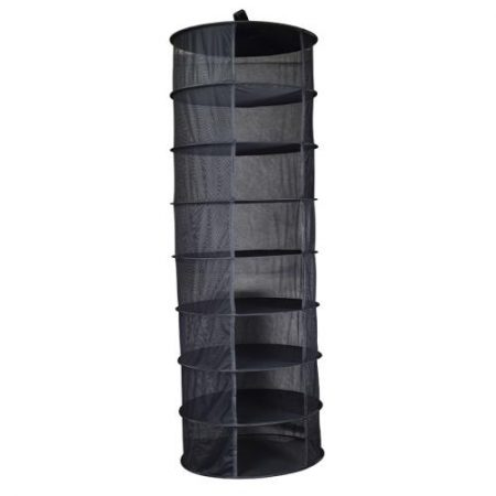 Grower's Edge Dry Rack Partially Enclosed - 2 ft